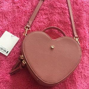 Lauren Conrad Nude Crossbody purse